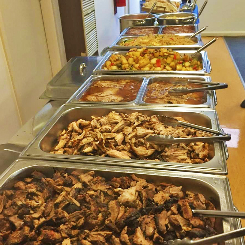 christmas party catering melbourne